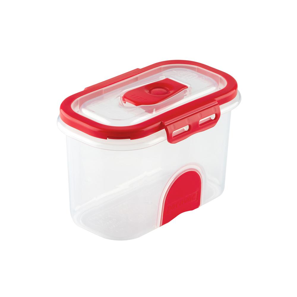 Domestic Vacuum Food Storage Container 860ml_Red