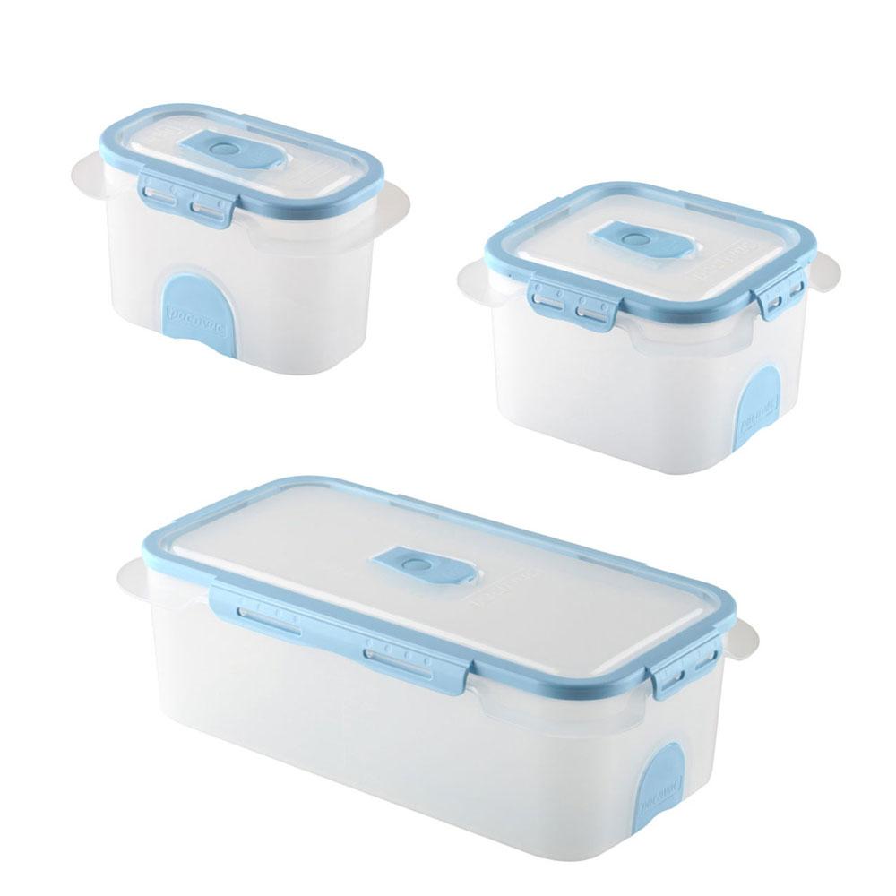 Etonnant Professional Vacuum Food Storage Container Set Blue