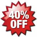 40% off Black Friday